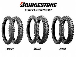 Bridgestone Battlecross X30 Front 80/100/21 51M Εως 6-ατοκες δοσεις